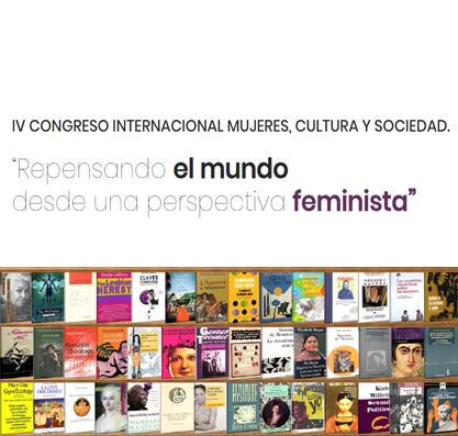 """CFP: V Congreso Internacional Mujeres, Cultura y Sociedad: """"Repensando el mundo desde una perspectiva feminista"""", Almería, 27-29 marzo 2019."""