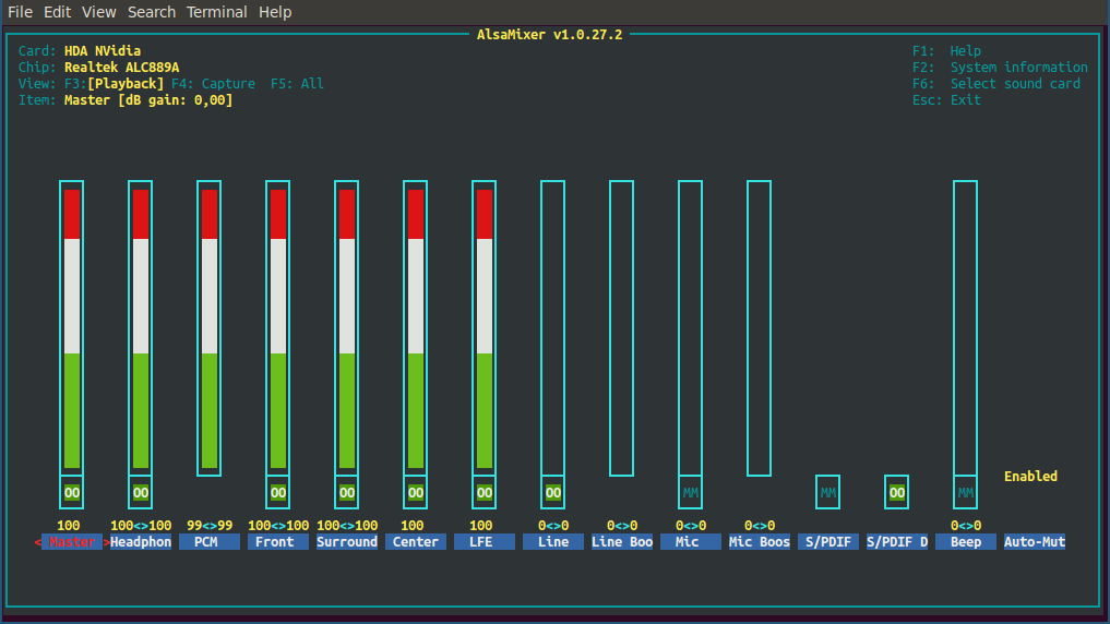 Advanced Linux Sound Architecture (ALSA)